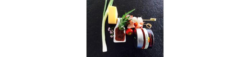 Bio Chutneys, Marmeladen und Gelees